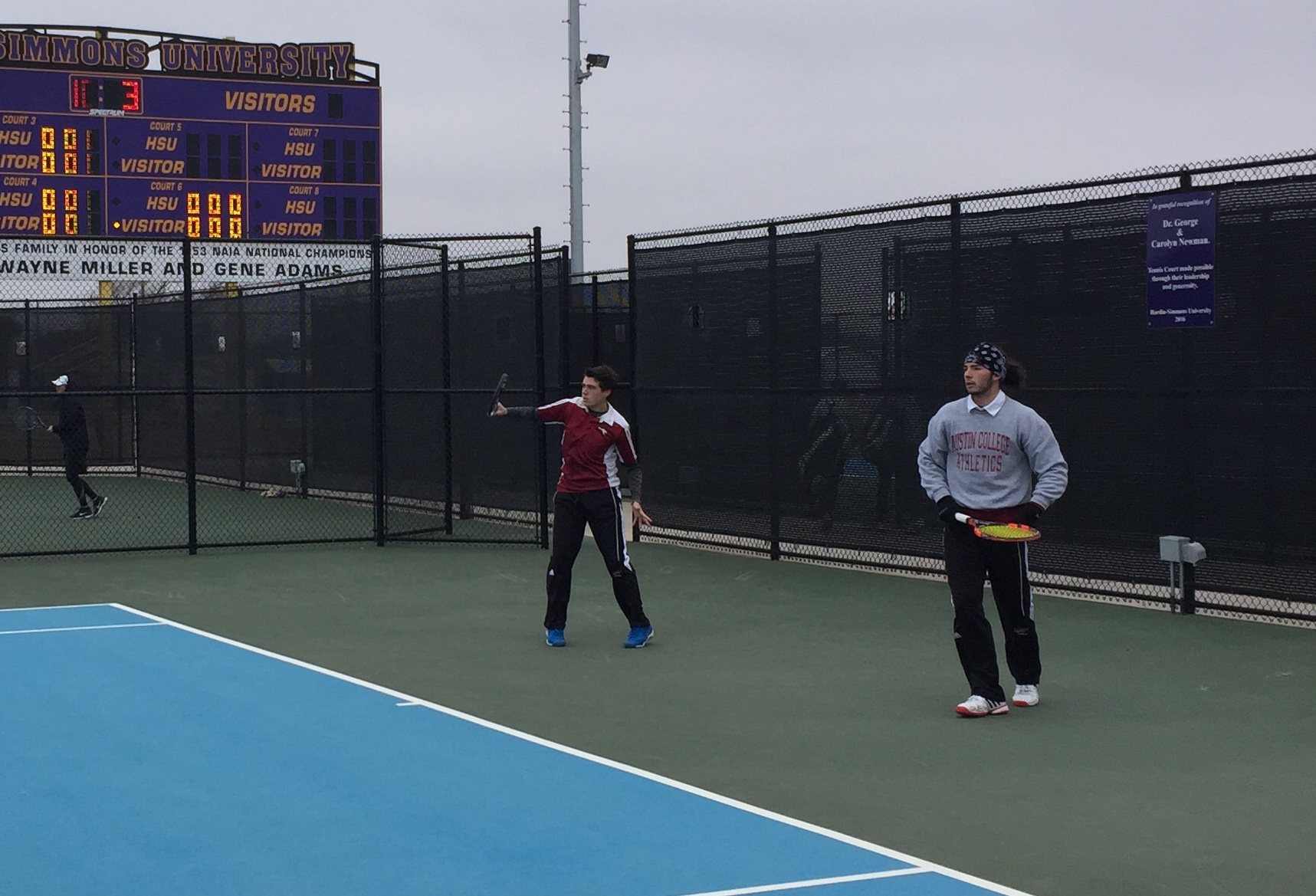 Hardin-Simmons Defeats Men's Tennis 5-4 in Abilene