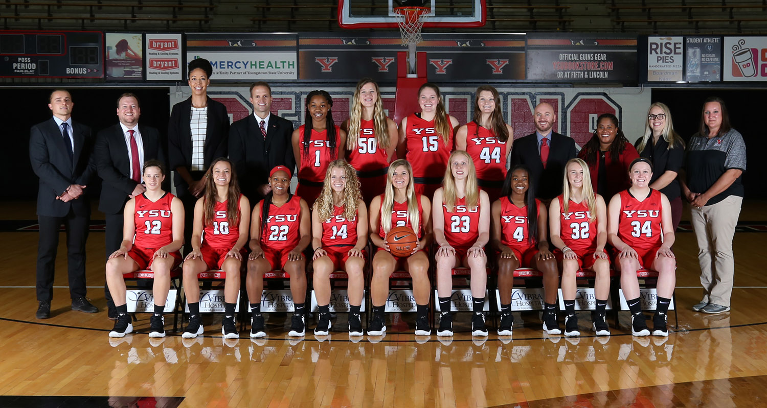 2018-19 Youngstown State Women's Basketball Team