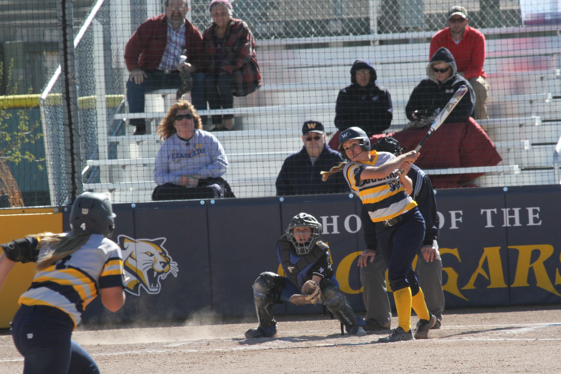 WNCC softball split DH with McCook