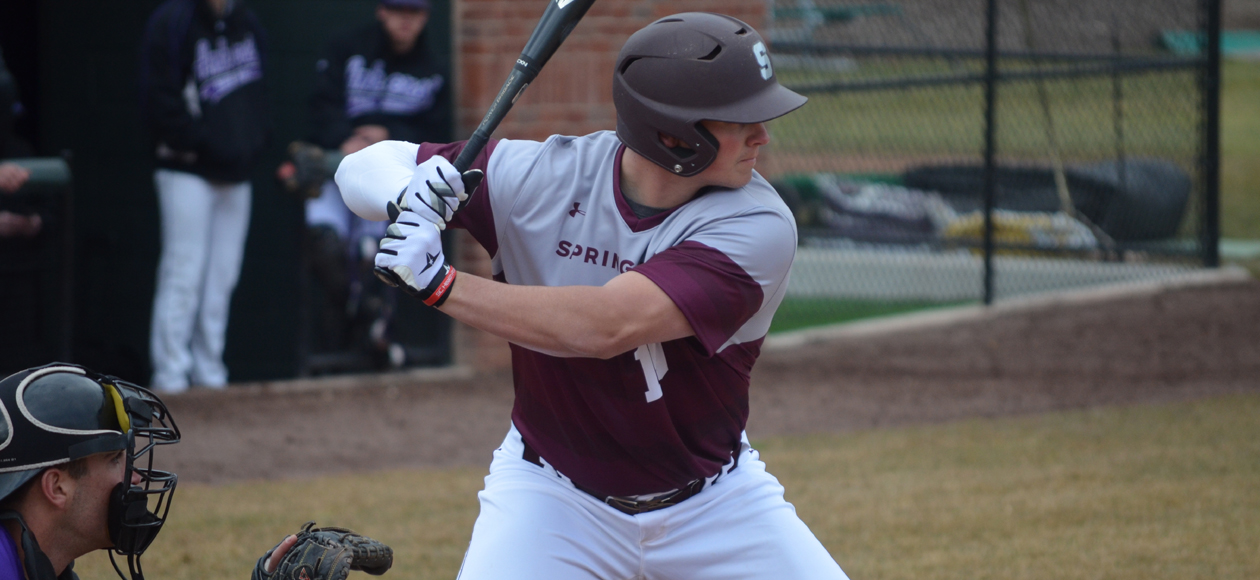 Baseball Defeats Clark, 7-0, in NEWMAC West Series Opener