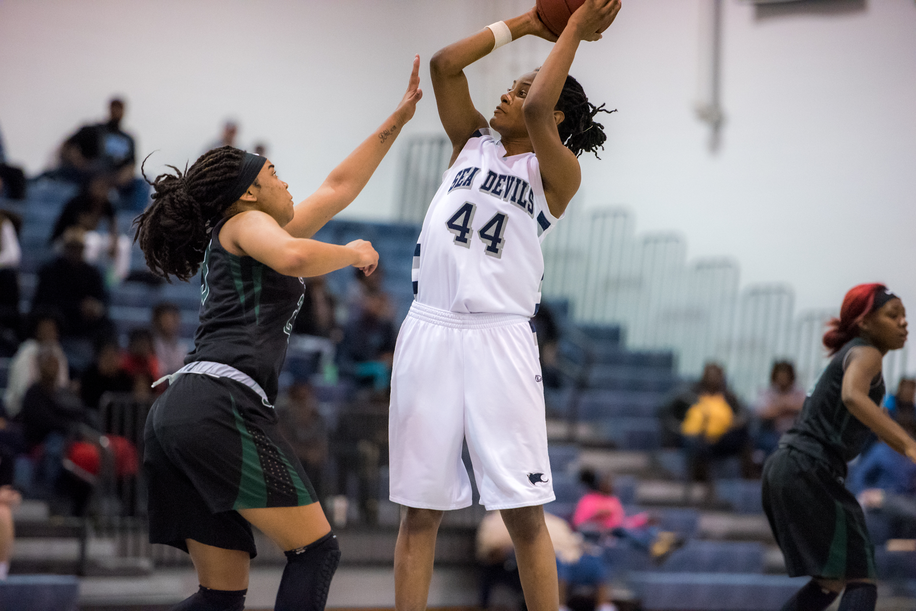 Destiny Campbell Records Program's First Triple-Double in Win