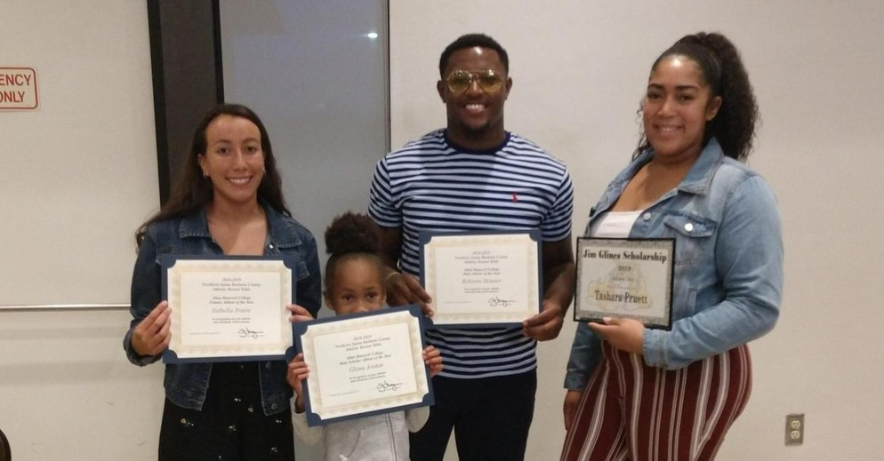 Northern Santa Barbara County Athletic Round Table Honors Hancock's Athletes of the Year