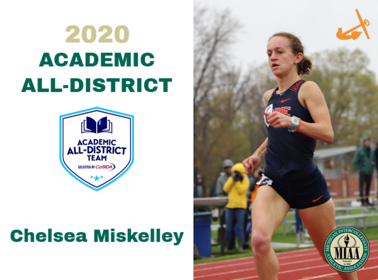 Hope's ChelseaMiskelley Named to CoSIDA Academic All-District Track and Field/Cross Country Team