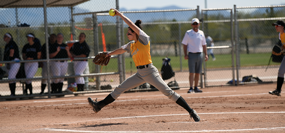 Abby Cosart struckout a career-high six batters (Photo Courtesy of Lexi Ripperger)