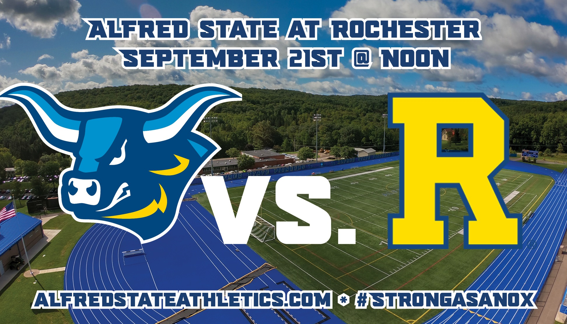 Alfred State travels to the University of Rochester on Saturday for a battle with the Yellowjackets