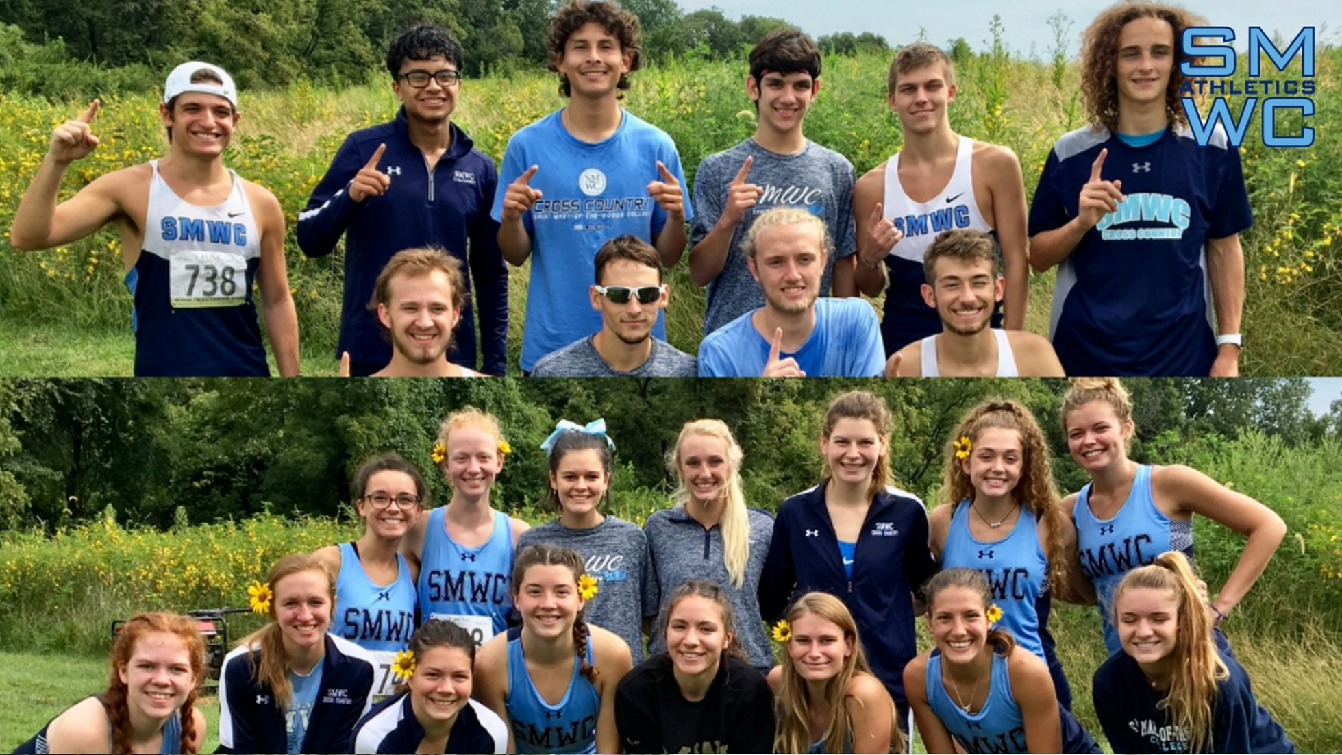 Men's & Women's XC Notch First Place Finish at Principia Home Opener; Zoe Trausch = First Collegiate Win