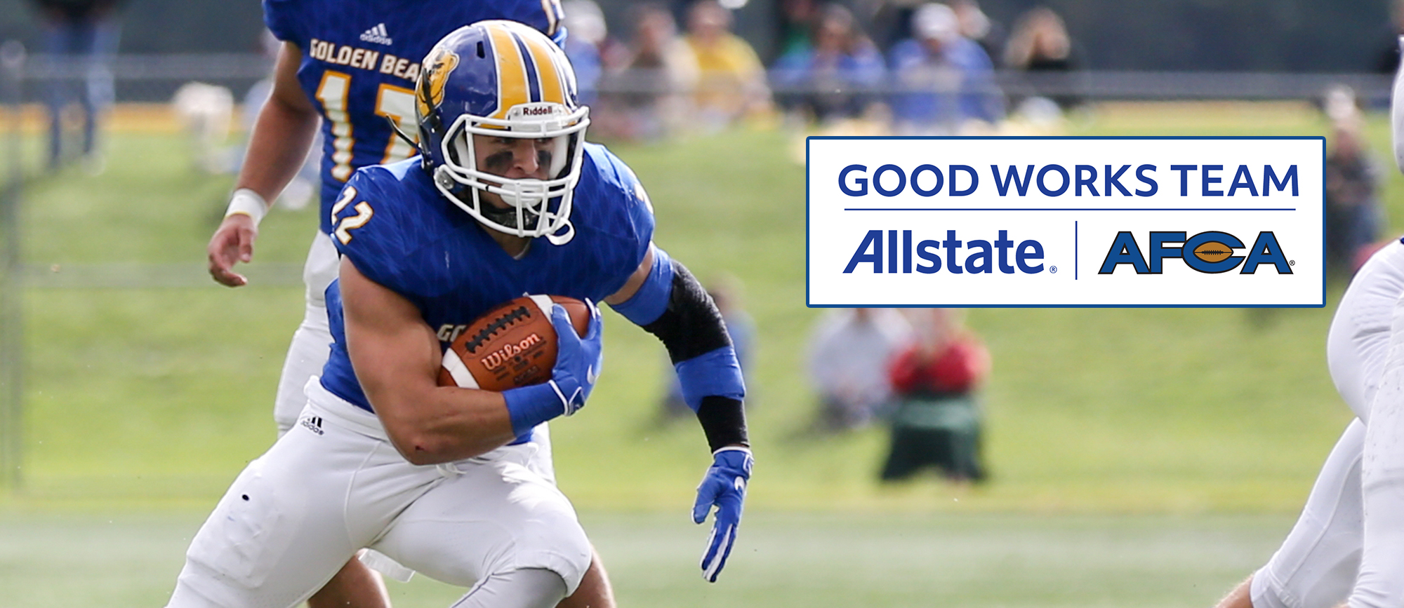 Peter Hoff Nominated for Allstate AFCA Good Works Team