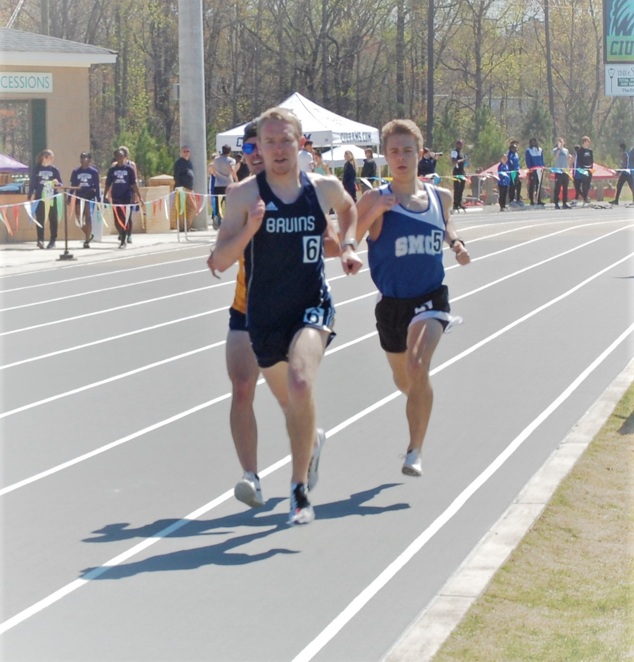 SMC Track and Field competes at CIU Invitational