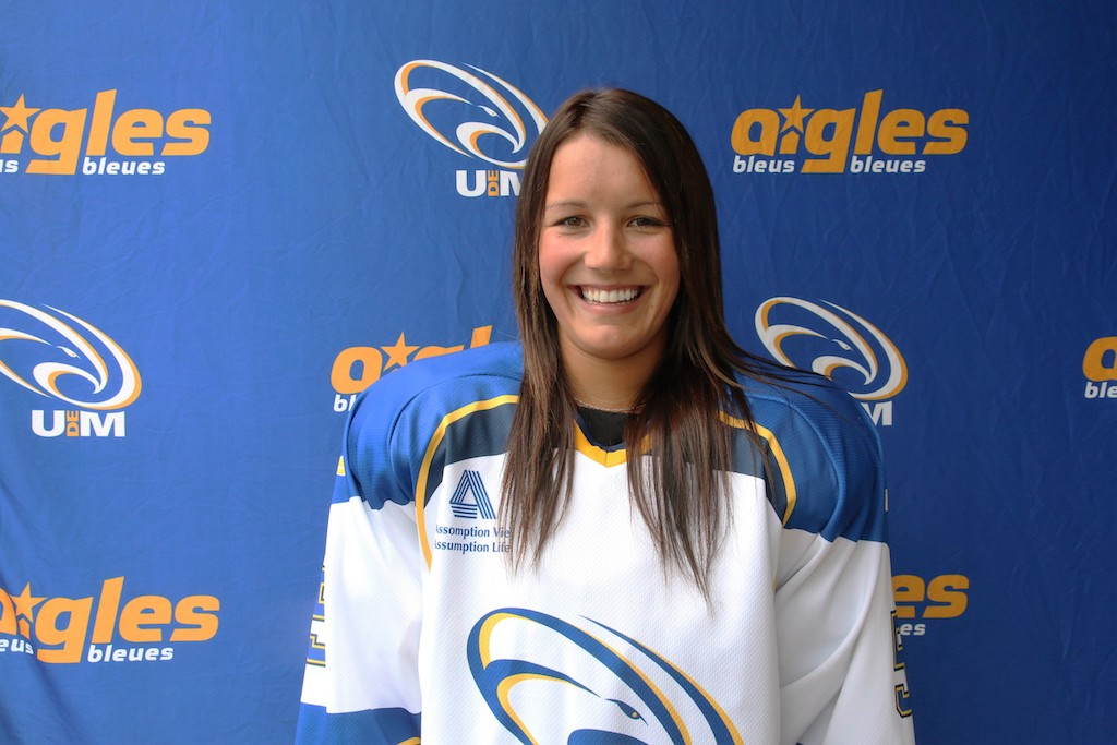 School comes first for Aigles Bleues captain Karine Roy