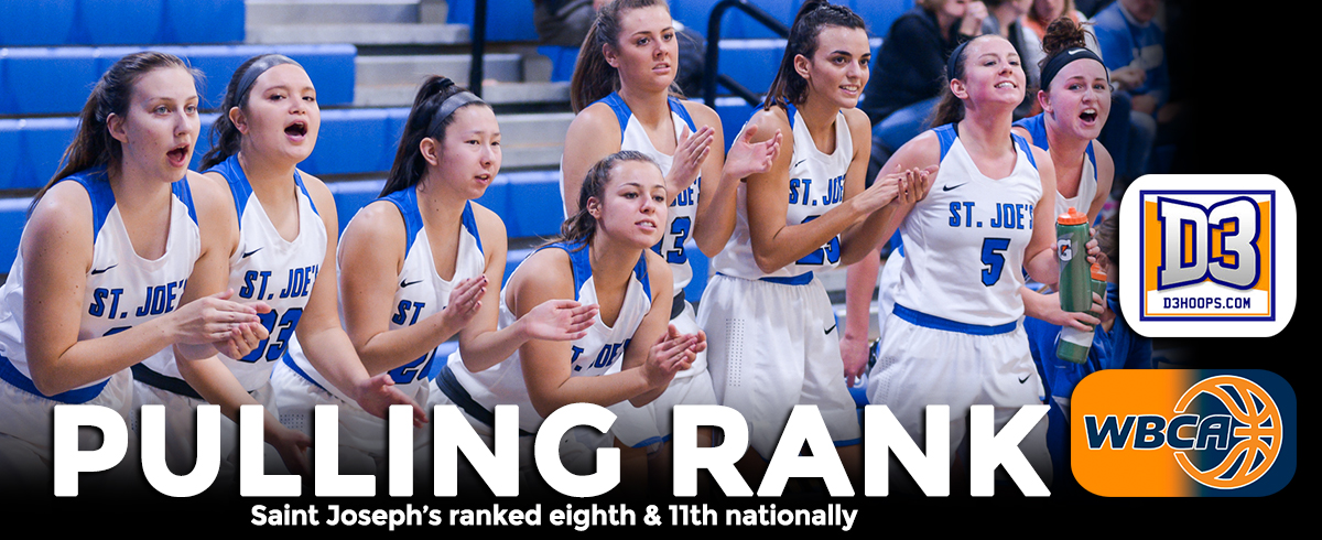 Saint Joseph's Ranked Eighth, 11th Nationally