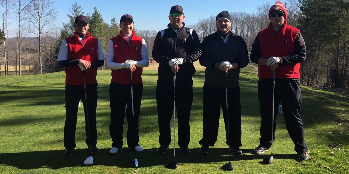 Photo for Men's golf tees spring season off at Dale Hollow resort