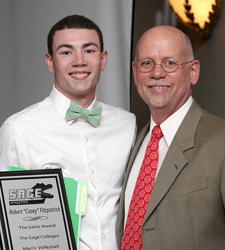 Sage's Fitzpatrick Named Gator of the Year in Men's Volleyball