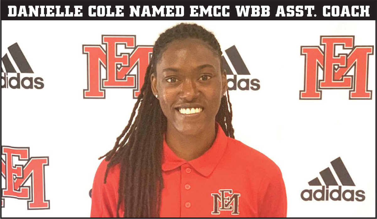 Philadelphia native Danielle Cole named EMCC assistant women's basketball coach