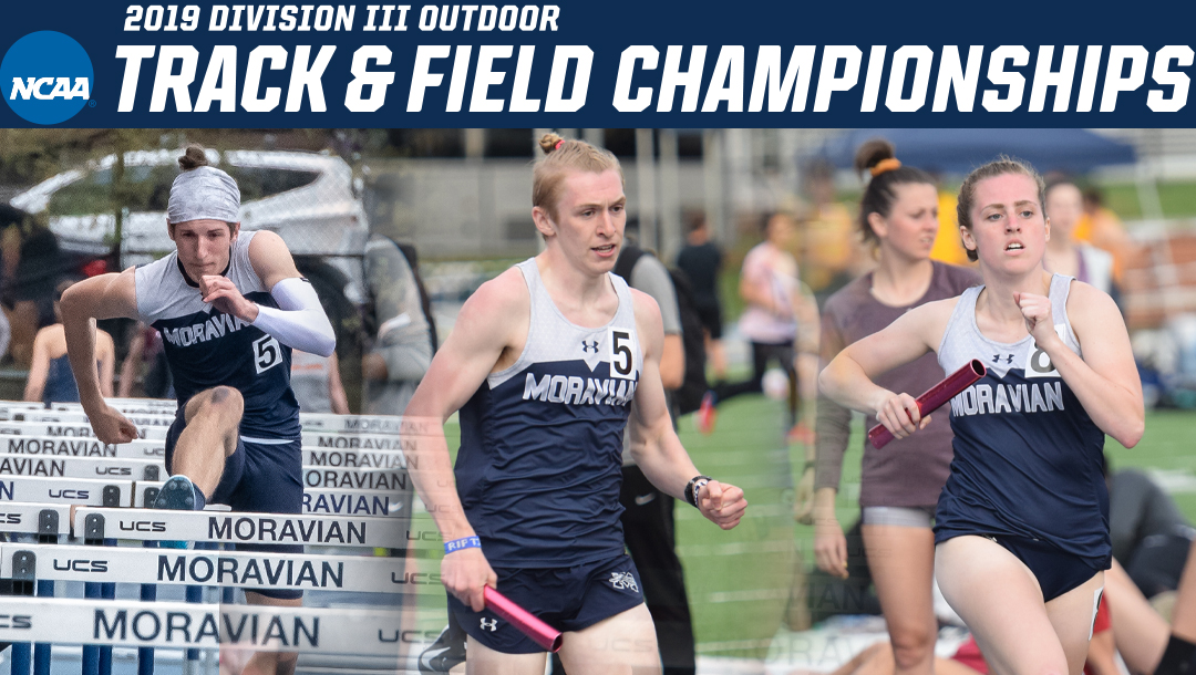 John Spirk, Greg Jaindl and Carly Danoski to compete in 2019 NCAA Division III Outdoor Track & Field National Championships.