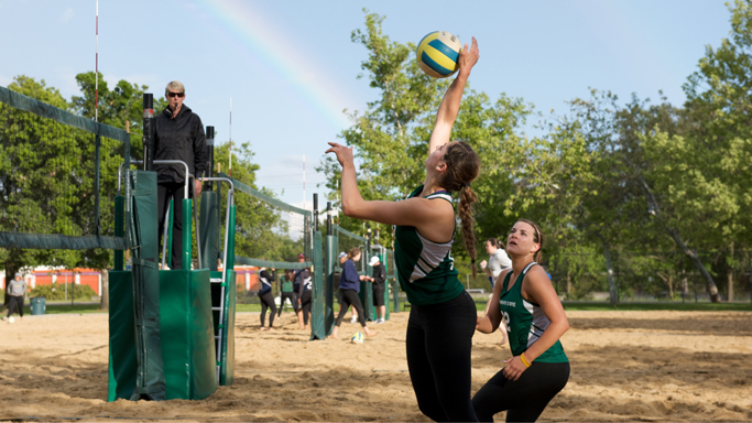 SAND VOLLEYBALL FALLS TO CAL POLY AND SAN FRANCISCO