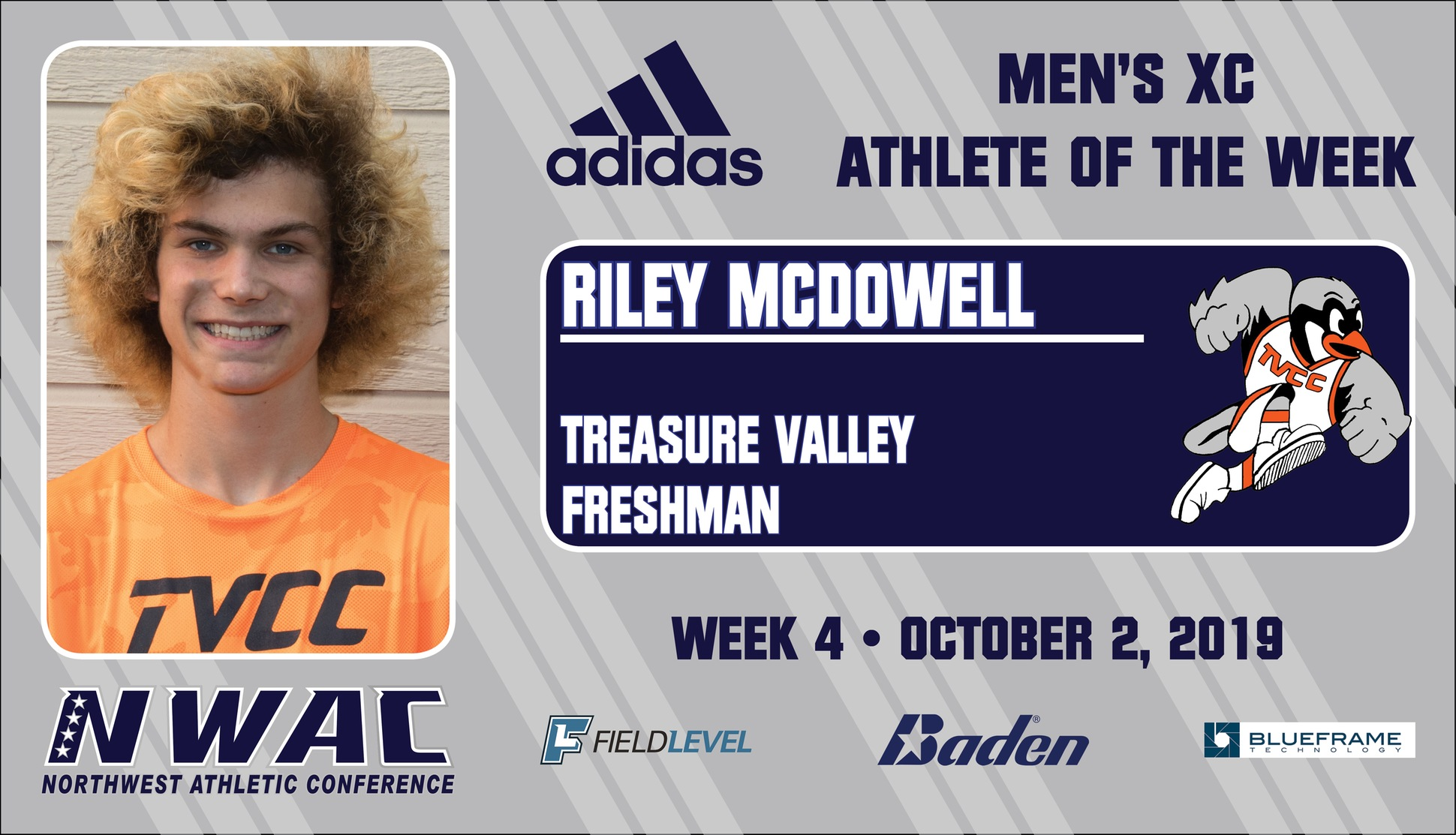 Graphic of Riley McDowell