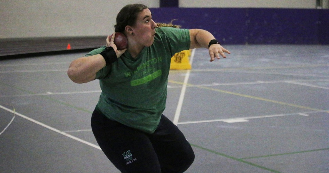 Stacy Finishes Top Three in Weight Throw and Shot Put at ONU