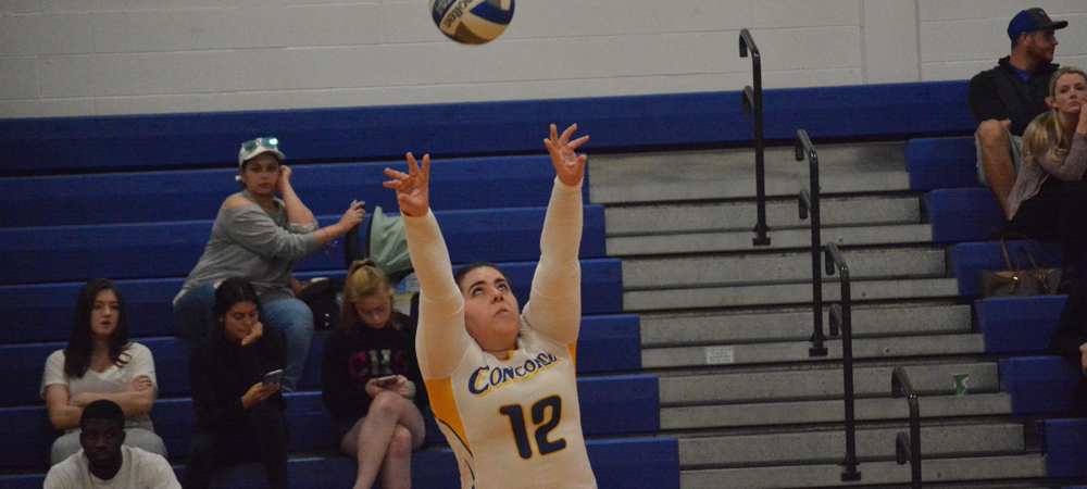 Women's Volleyball Edged At Nyack, 3-1