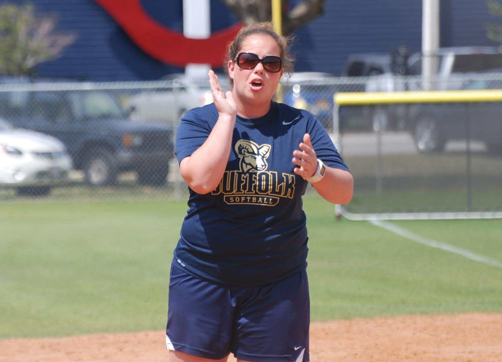 Davis Collects 100th Career Win; Softball Slugs SJC in Two