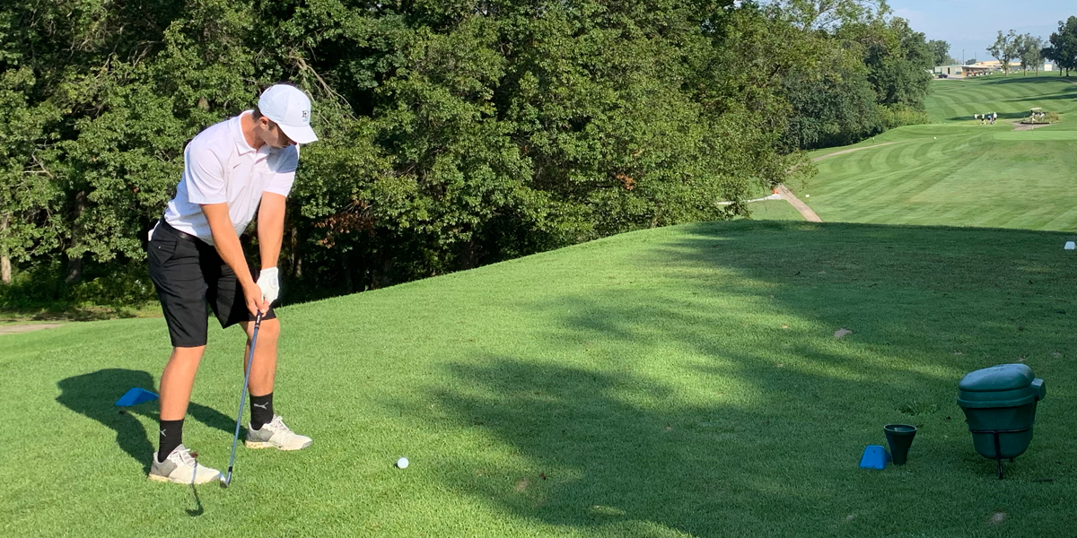 Logan Smith Leads Evangel Men's Golf at Fall Invitational