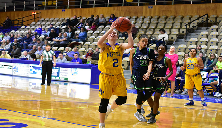 Mars Hill falls to Wingate on road