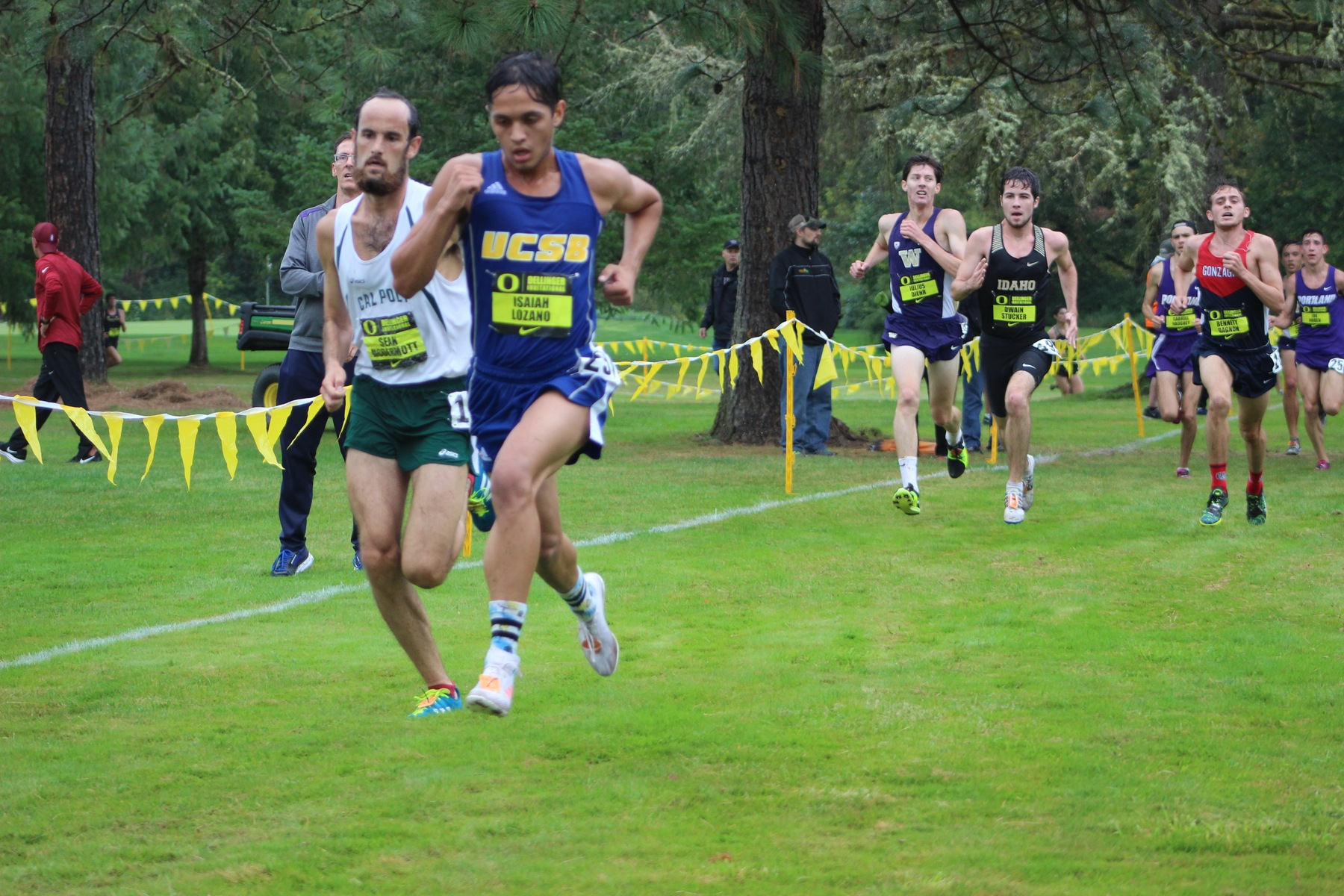 Cross Country Gains Experience From National Class Field at Dellinger Invitational