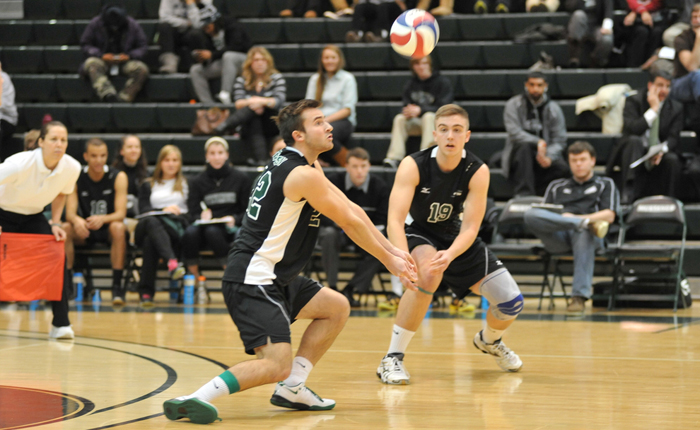 No. 14 Mustangs Rally From Two Sets Down to Defeat Eastern Mennonite