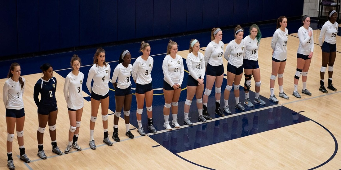 Volleyball Returns to GNAC Play Wednesday at Simmons