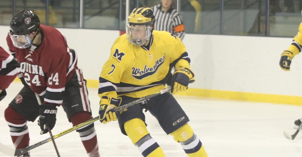 Dunn Hat Trick leads Wolverines to 4-2 win