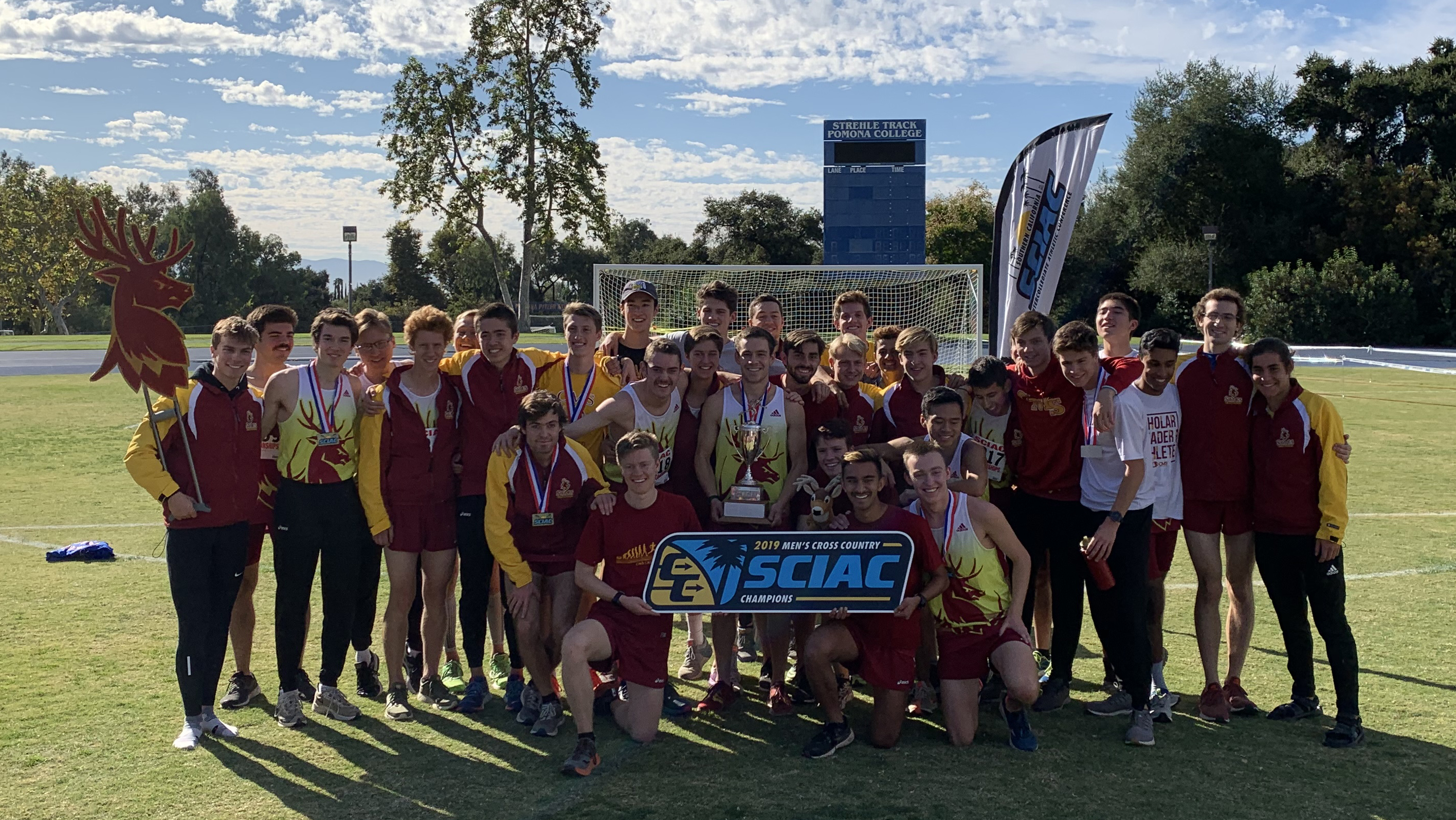 CMS Secures SCIAC Men's Cross Country Championship Title