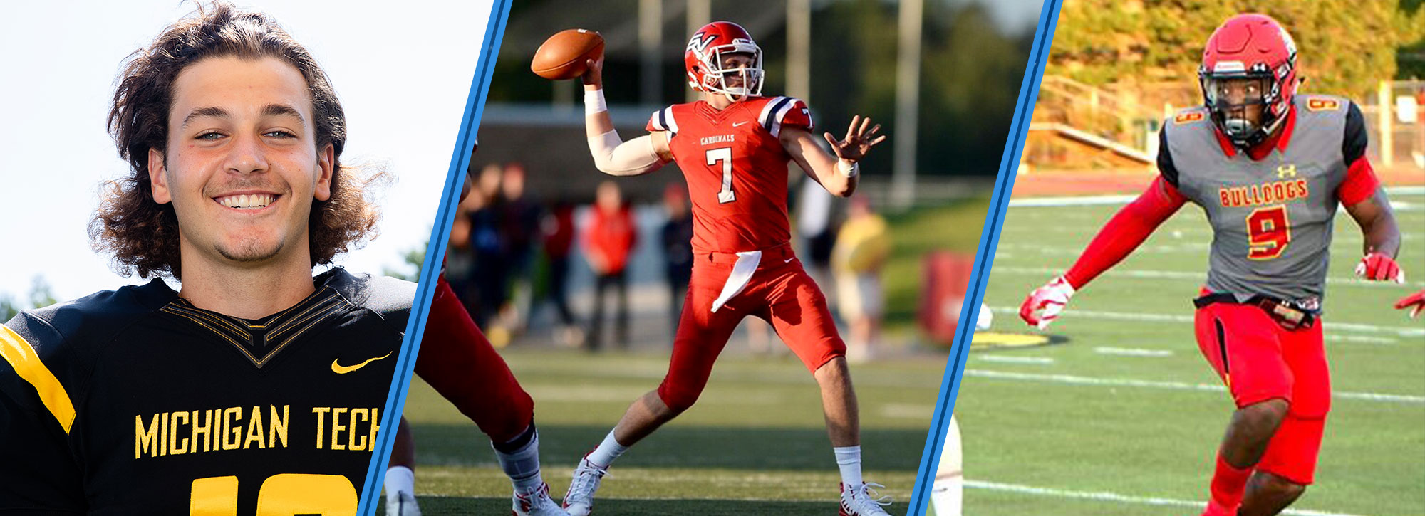 SVSU Conklin, FSU's Thrower & Tech's Zeboor Named GLIAC Football Players of the Week