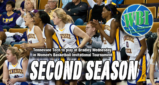 Golden Eagles visit Bradley in first round of Women's Basketball Invitational