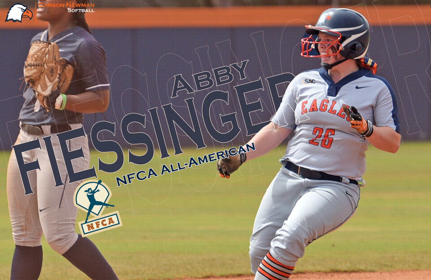 Fiessinger ropes in All-America honors from NFCA, D2CCA