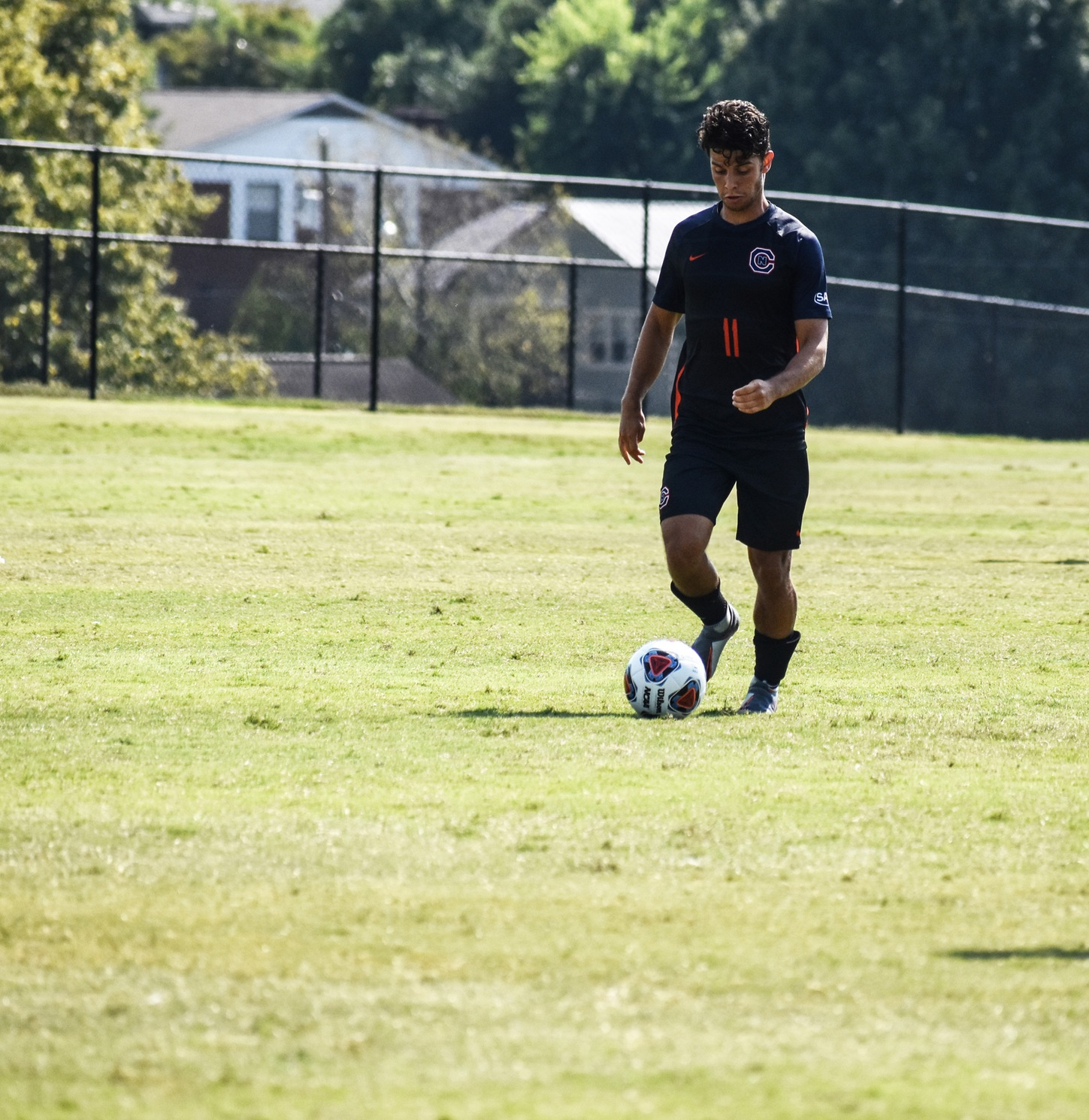 Silva's double-overtime penalty kick helps No. 13 Eagles hold off Catawba