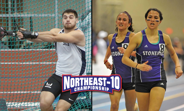Owls' Men, Skyhawks' Women On Top After Day One of NE-10 Outdoor Track & Field Championships