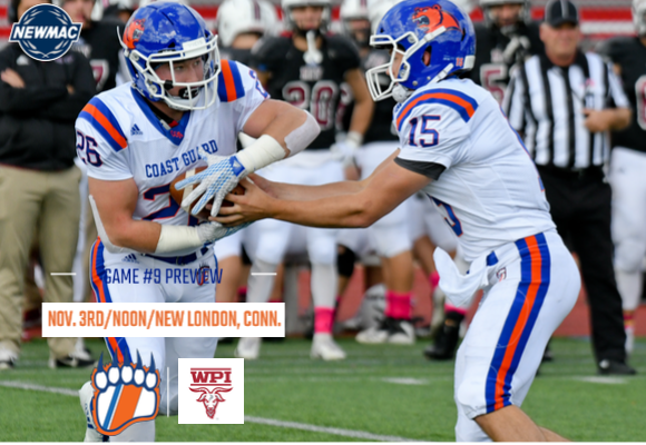 GAME #9 FOOTBALL PREVIEW: Bears Battle WPI in Home Finale