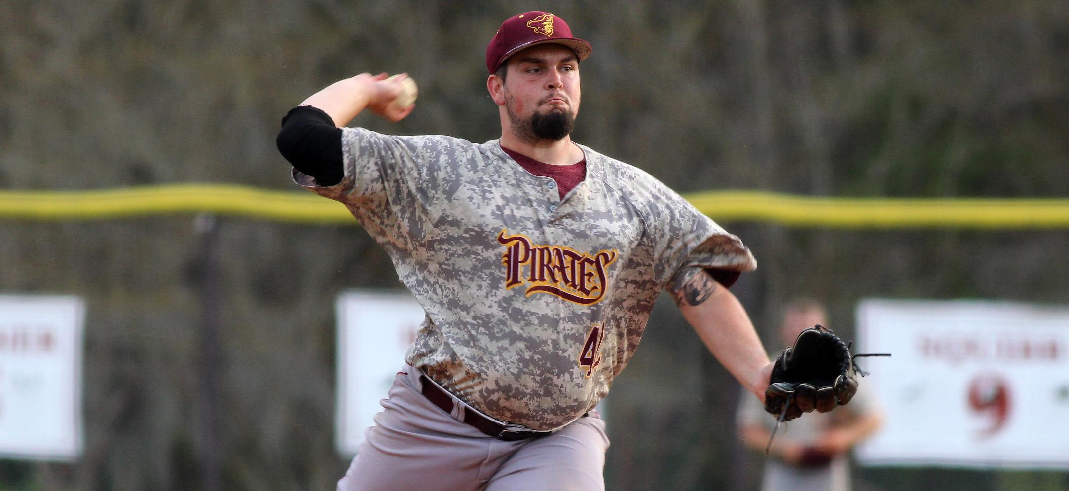 Pirates Notch First PBC Win With 6-4 Victory Over Flagler Baseball
