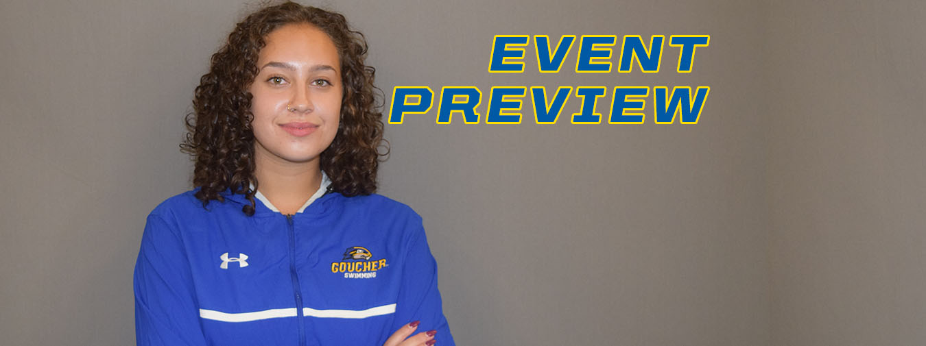 Goucher Swimming Heads To Elizabethtown On Saturday For Tri-Meet With Immaculata