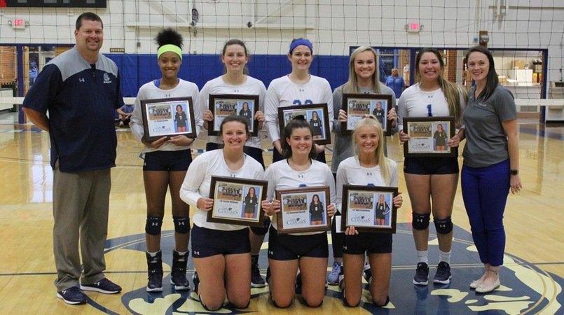 Lady Cougars Win Final Home Match of Season