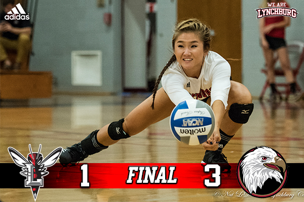 Volleyball falls 3-1 to Bridgewater