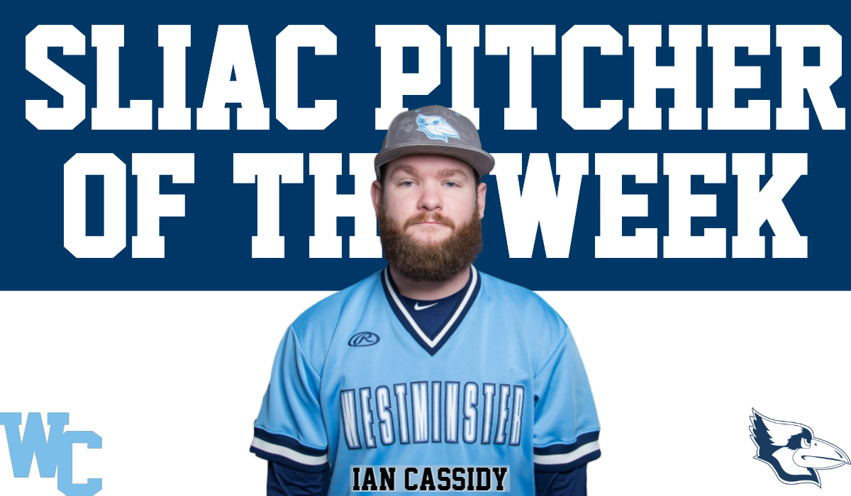 Cassidy Named SLIAC Pitcher of the Week