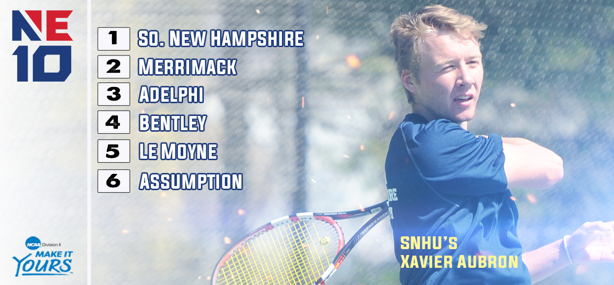 SNHU Earns Top Seed in Upcoming NE10 Men's Tennis Championship
