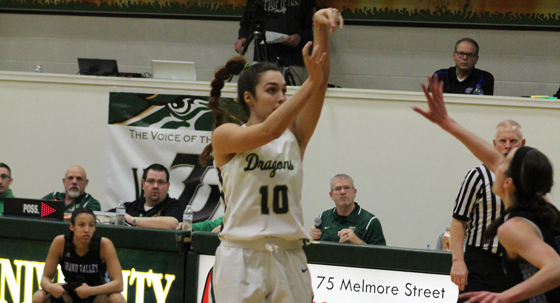 Aida Martin led Tiffin in scoring and rebounding with 15 points and seven boards.