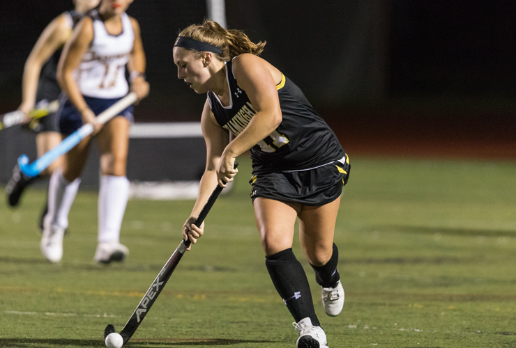 Field Hockey Rallies for 5-4 Victory over Salem State