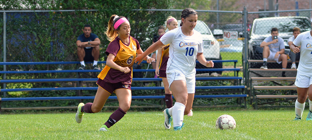 Women's Soccer Upended by CACC Foe Post