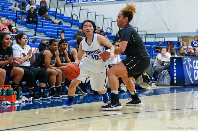 Gillian Yamasaki had seven points for the Falcons against Mt. SAC
