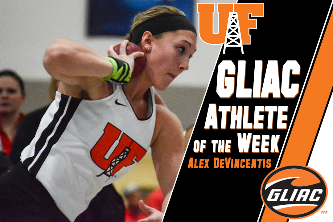 DeVincentis Earns GLIAC Athlete of the Week