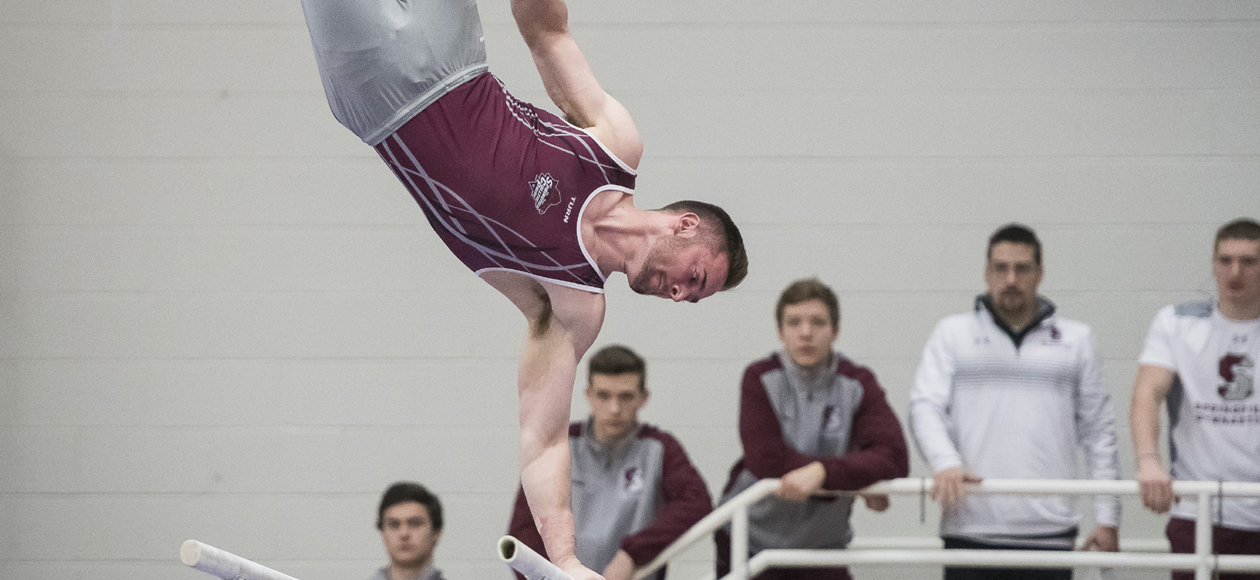 Men's Gymnastics Falls To Army and William & Mary