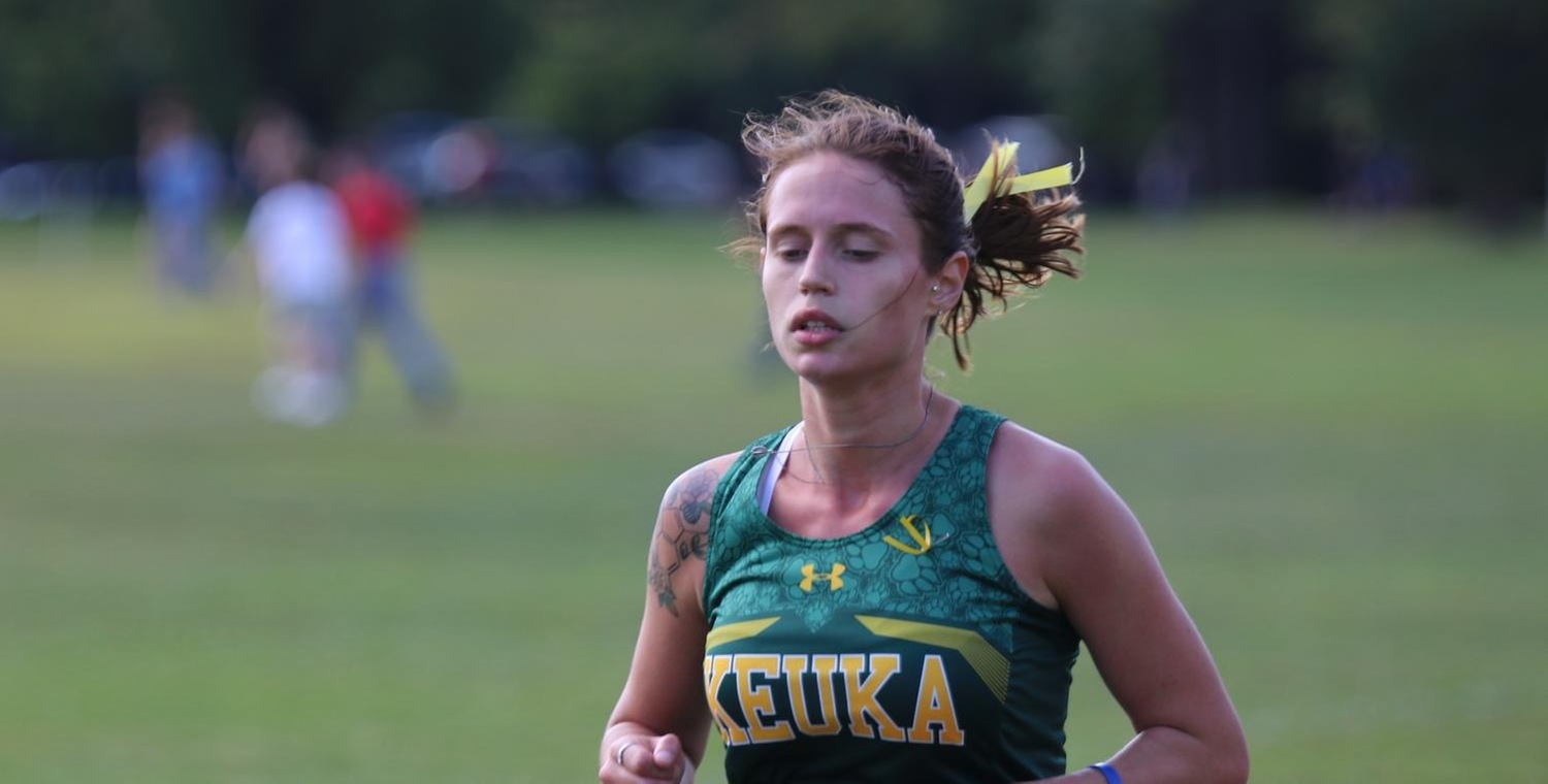 Kaitlin Snipas took three and a half minutes off of her personal best in the 5K on Saturday