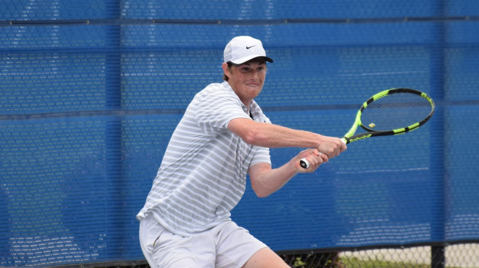 Men's tennis team topples Saddleback for the second time